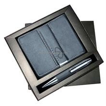 The classic high quality business pen gift set,gift set for men,wallet gift set with pen