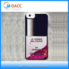 2015 new design 3D Liquid Nail polish phone case for iphone 6