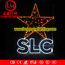 led words star sign decoration motif light,high quality decoration lights,CE,ROSH Approve