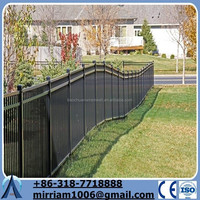 used high security department of used wrought iron fencing for sale