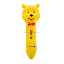 2015 100% real ABS and Eco-friendly material tough vedio and magic with best cheapest reading pen for children learning