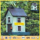 decorativo pintado birdhouses 9227 fornecedor