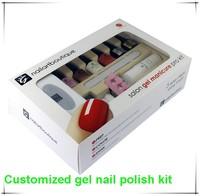 OEM service offered professional home use UV or LED gel nail polish starter kit
