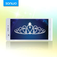 China smartphone come with Slim leather case 6 inch smartphone bulid in 2300mAh battery