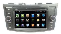 Suzuki Swift/Ertiga 2 din 7 inch android 4.4 car dvd player with gps navigation