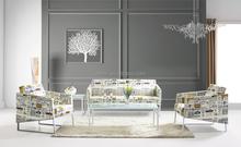 Foshan Sharp Design Fancy Leather Sofa