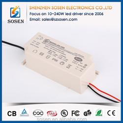 2015 new product ip66 35W 1000mA UL led driver