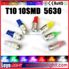 2015 new quality products T10 led, led car light W5W car lights led 5630SMD auto led lamp, car led light