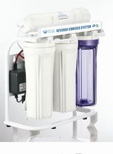 "5 stages RO System Water Purifier with ""E"" type stand, 50GPD Water Filter System"