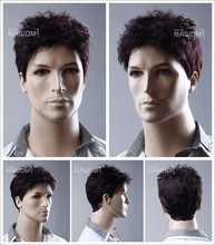 W3730 Wholesale full lace wig men Wigs