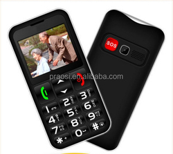 big fonts cell phone for elderly, cheap DUAL sim card gsm quad band mobile phone for senior