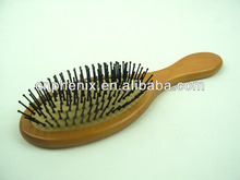 nature Wooden massage hair brush comb head care