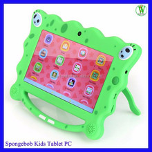 Spongebob Kids Tablet PC With Free Learning Software Allwinner A33 Quad Core 7 inch Buy Direct From China Manufacturer