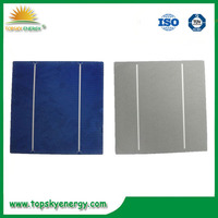 6x6 inch 4.2w 2BB multi crystalline silicon solar cell for solar panels