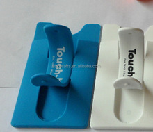 High quality best selling silicone card with phone holder