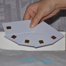 Top quality new products contactless card rfid with gold foil