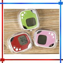 BW06 Mini Pedometer Walking Run Step Calorie Distance Calculation Clip-on Steps Counter