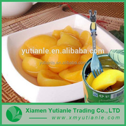 Wholesale china import canned peaches halves in syrup