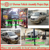 rhd/lhd hiace style mini bus van to be assembled in local Africa