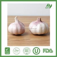Chinese fresh pink red garlic