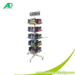 mobile accessories display rack/ cell phone accessory display rack/accessories display rack