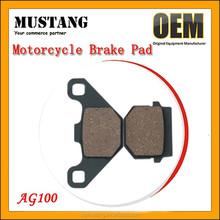 China Wholesale High Performance Non-asbesto Semi-metal Motor Brake Pad for Yamaha GY6-50 GY6-125 AG100 MIO Crypton