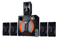 2015 Top one wooden 5.1ch home theater sound multimedia subwoofer speaker system