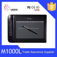 Ugee M1000L 10x6 inches 2048 levels handwriting input drawing tablet