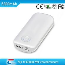 5600mah beautiful colorful power bank with led light and highest conversion rate