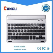 hotselling bluetooth keyboard for iPAD Mini,with smart shaft