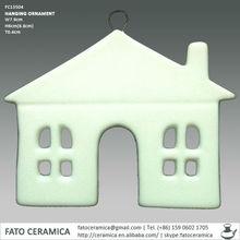 FC13504 decorativas casas en miniatura de cerámica
