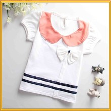 Wholesale Children Cotton T-shirt Plain No Brand T-shirt Kids T-shirt Design ZZJ-PX-73