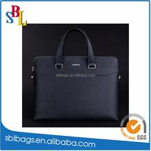 2015 New Design Men's Leather Briefcase Laptop Bag / Portfolio Business Bag / Document Bag