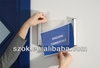 acrylic outdoor waterproof insert sign holder wall mounted