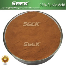 95% Fulvic Acid powder fertilizer and Customized Formulations
