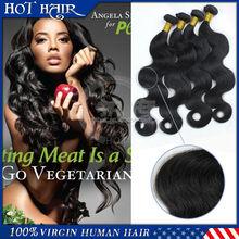 unprocessed 100% brazilian virgin hair extension aliexpress china