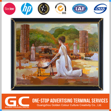 Iso9001 Certified Fashionable New Coming Oem Painting Wall Frame Mural Painting
