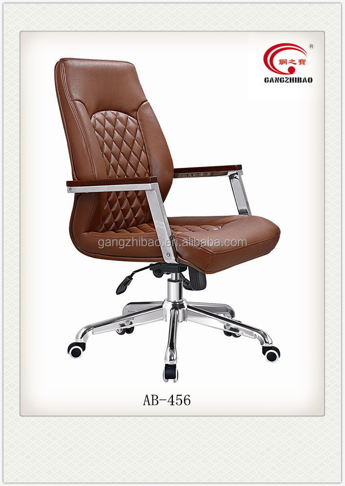 Foshan Office Furniture Supply Leather Office Chair Of Low