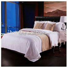 300 egyptian stripe 100%cotton world sateen fabric chinese Bedding set/Duvet cover set