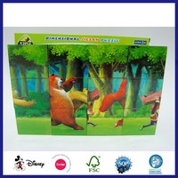 Custom Paper Printing Recycled Magical Cube Toy Puzzle