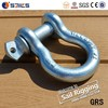 Zinc Plated Drop Forged US Type Screw Pin Anchor Shackle