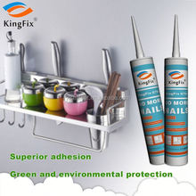 white color 320ml tube building nail liquid sealant for Plaster