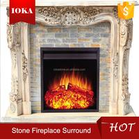 decorating elegant fireplace mantle
