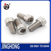 Specialized In Producing DIN912 304Stainless Steel Hexagon Socket Head Cap Screws