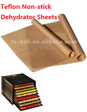 """Pack of 4 Premium 13.5"""" x 10.5"""" Non-Stick Dehydrator Sheets- Use with GooD4U 6 or 10 Tray"""