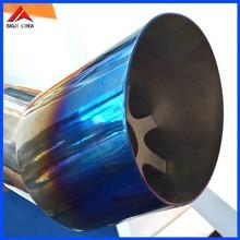 titanium exhaust muffler for bmw x6 e71 lumma style
