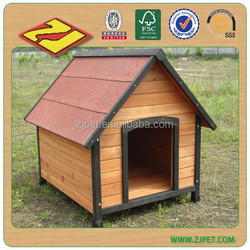 Good sales wooden dog kennel with waterproof DXDH011