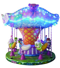 Hot selling carousel merry go round for kids revolving horse for park(LH07)