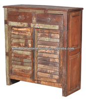 Reclaimed Teak wood Furniture Bed side table