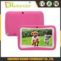 New Design 7 Inch Kids tablet / Cute children kid tablet / wholesale tablet pc RK3126